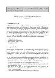 Rahmenkonzept des Landesschulrates für Oberösterreich