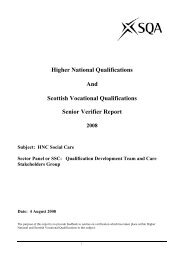 Higher National Qualifications And Scottish Vocational ...