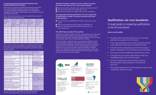 Qualifications can cross boundaries leaflet - Scottish Credit and ...