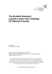 The Scottish Standard - Scottish Qualifications Authority