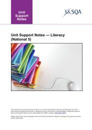 Unit Support Notes — Literacy (National 5) - Scottish Qualifications ...