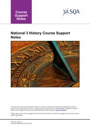 National 3 History Course Support Notes - Scottish Qualifications ...