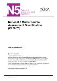 National 5 Music Course Assessment Specification - Scottish ...