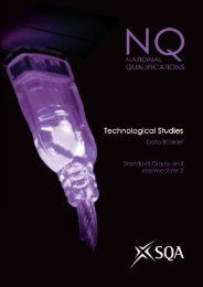 Technological Studies Data Booklet - Scottish Qualifications Authority