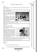 French: Reading and Writing Specimen Question Paper National 5 - Page 2
