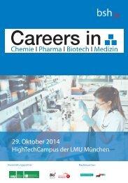 Careers in CPBM 2014
