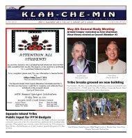 Klah-Che-Min Newsletter - Squaxin Island Tribe
