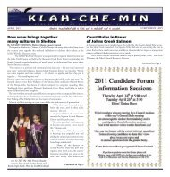 K L A H - C H E - M I N - Squaxin Island Tribe