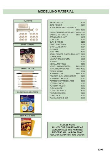MODELLING MATERIAL - Squires Model and Craft Tools