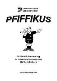 Schiedsrichter Schiedsrichterzeitung - Sr-northeim-einbeck.de