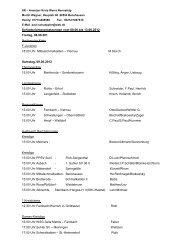 SR – Ansetzer Kreis Werra Rennsteig-