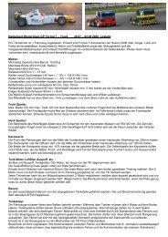 Reglement für den World GP F1 Truck 2008 - srcca
