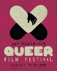 2014 Vancouver Queer Film Festival Guide