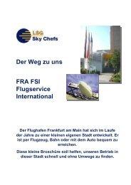 Anfahrt FRA FSI - Be-Lufthansa.com