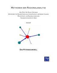 UE2_Potenzialmodell - Fachbereich Stadt- und Regionalforschung ...