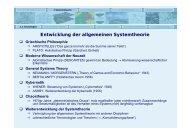 [ 1 ] Systemtheorie und Systemanalyse