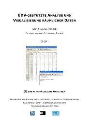 Einfache räumliche Analysen - Fachbereich Stadt- und ...