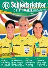 Die Schiedsrichter-Zeitung 4/2011 - DFB