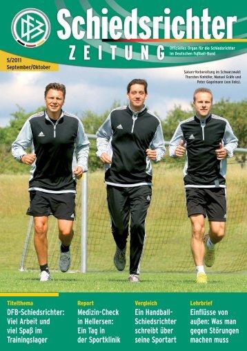 Die Schiedsrichter-Zeitung 5/2011 - DFB