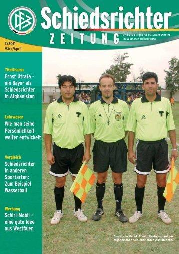Die Schiedsrichter-Zeitung 2/2011 - DFB