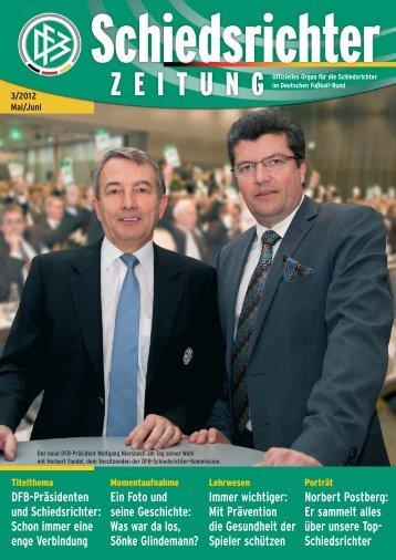 Die Schiedsrichter-Zeitung 3/2012 - DFB