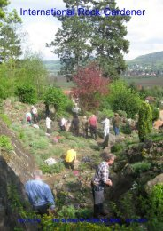 June - Scottish Rock Garden Club