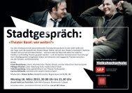 «Theater Basel: wie weiter?»
