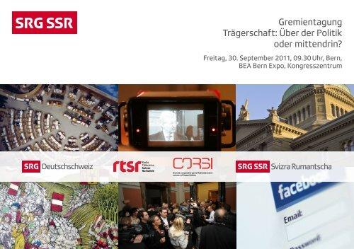 Gremientagung SRG SSR 2011
