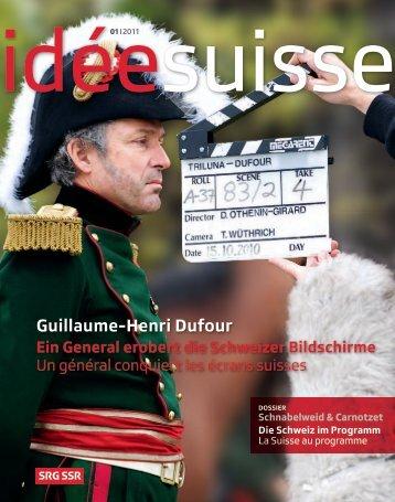 idée suisse 01 | 2011 - SRG SSR