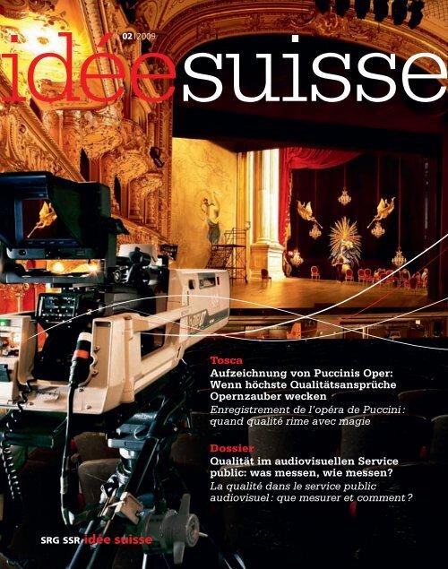 idée suisse 02 | 2009 - SRG SSR