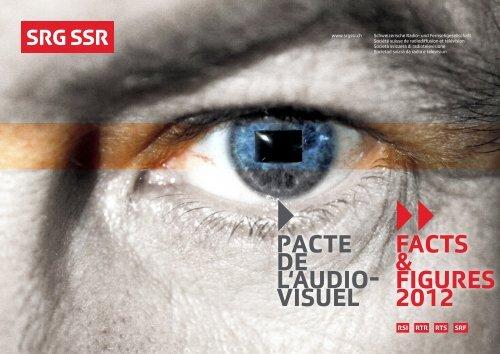 Pacte de l'audio- visuel Facts & Figures 2012 - SRG SSR