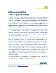 Fit for High Performance - Engel Austria
