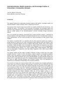 Internationalisation, Mobile Academics, and Knowledge Creation in ... - Page 3