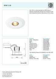 STAT 3 25 - ES-team lighting