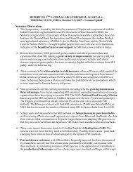 report on 2nd national sri symposium, agartala - Cornell ...
