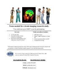 currently recruiting - SRI International