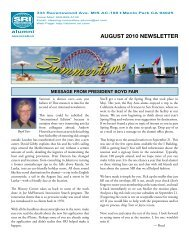 Aug 2010 - SRI International