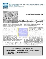 Apr 2006 - SRI International
