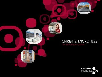 Christie Microtiles Brochure - Event Projection