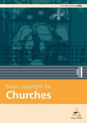 Music Copyright for Churches - Uniting Church in Australia
