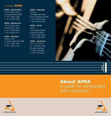 About APRA