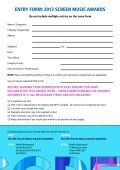 caLL For eNtries - APRA - Page 2