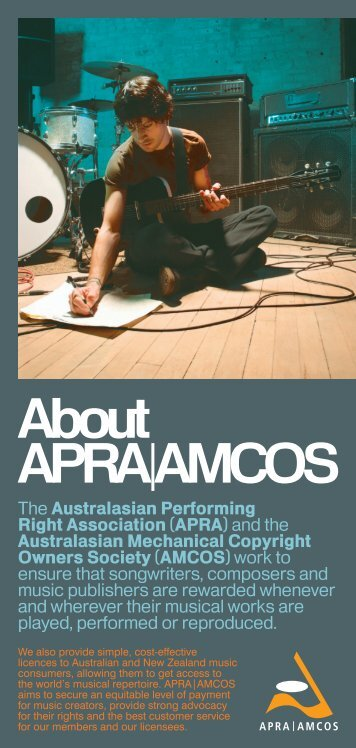 About APRA|AMCOS