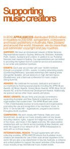 About APRA|AMCOS - Page 2
