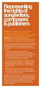 About APRA|AMCOS - Page 3