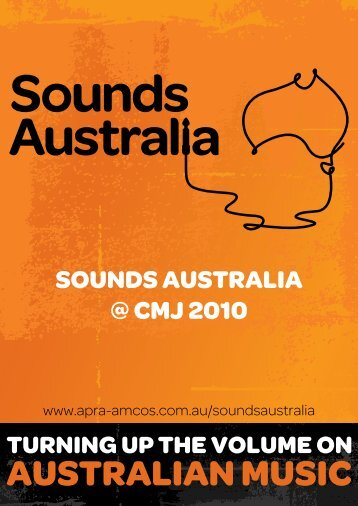 SOUNDS AUSTRALIA @ CMJ 2010 - APRA
