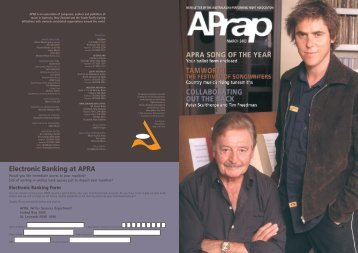 director of nz - APRA