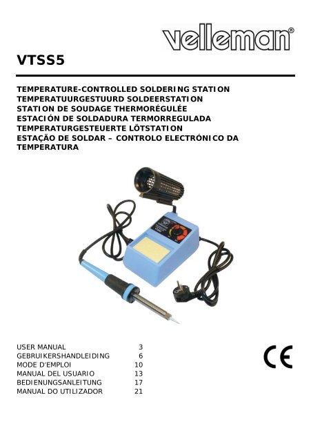 Nouveau exso fer à souder Régulateur de température 110 V Poignée 220 V jusqu/'à 200 W fer