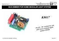 bus dimmer for home modular light system - ESR Electronic ...