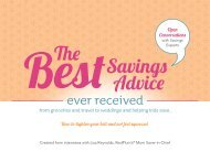 Best Savings Advice Ever Received - Here Comes the Guide